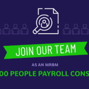WE ARE HIRING: Sage 300 People Payroll Consultant